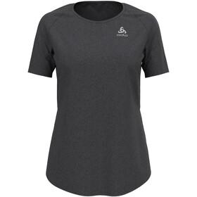 Odlo Millennium Element Crew Neck SS T-Shirt Women black melange